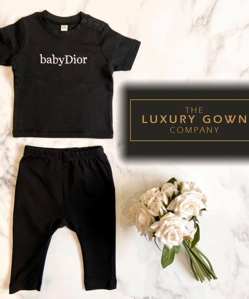 Personalised Baby Cotton Tracksuit