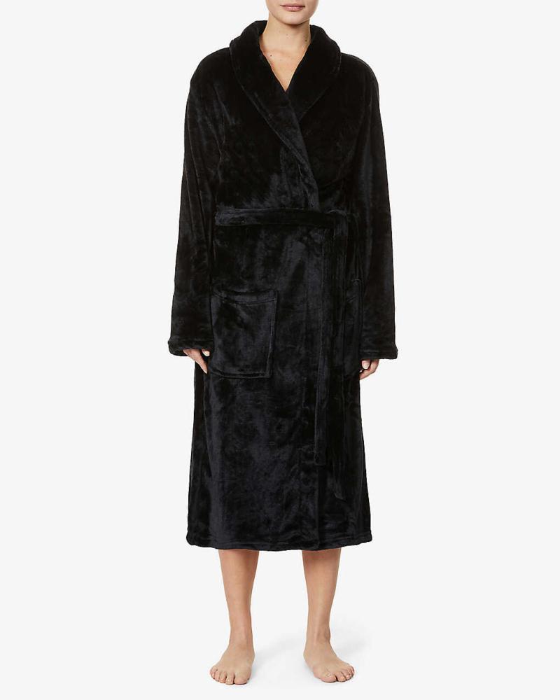 Womens boyfriend fit personalised Soft Fleece Dressing Gown