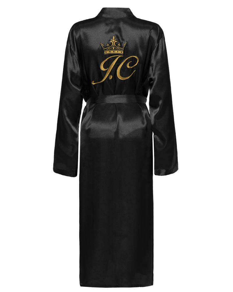 Mens Luxury Satin Robe