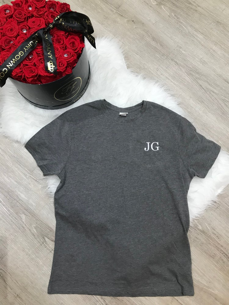 Mens personalised cotton lounge T-Shirt