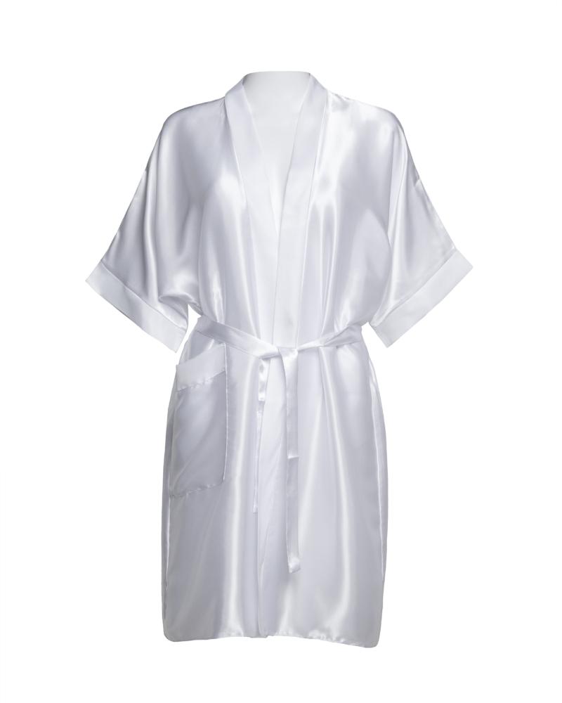 Ladies Personalised Satin Robe